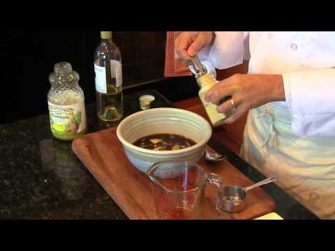 Making Teriyaki Grilled Salmon