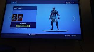I Accidently Buy The Spider Knight Skin In Fortnite😩