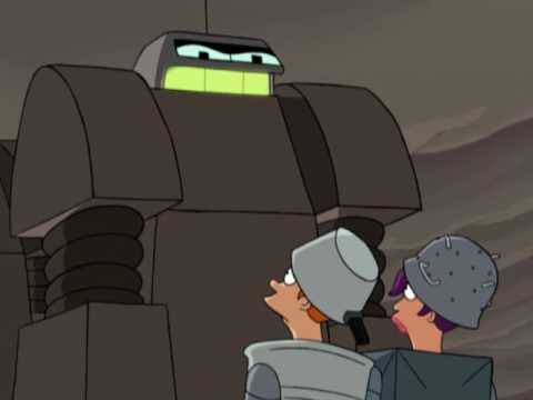 Futurama - Robot Test