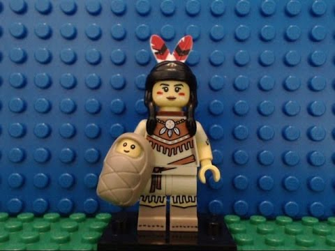 LLP - LEGO Minifigures Series 15 Tribal Woman (Sacagawea)