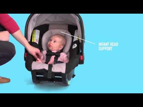 Graco SnugRide Click Connect 35 Infant Car Seat Pierce Baby