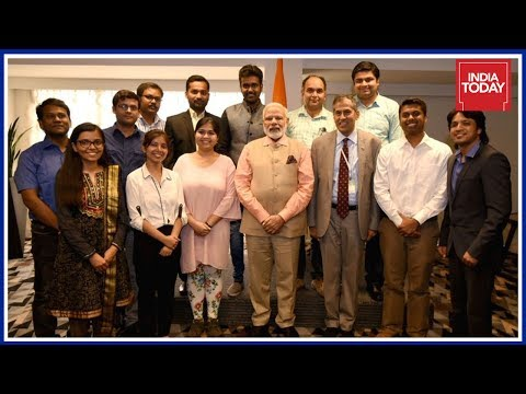 3 Days In Israel: Pm Modi Meets Students In Israel