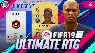 FUT RIVALS REWARDS!!! ULTIMATE RTG - #4 - FIFA 19 Ultimate Team