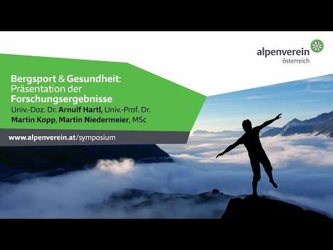 Bergsport & Gesundheit - Präsentation der Forschungsergebnisse