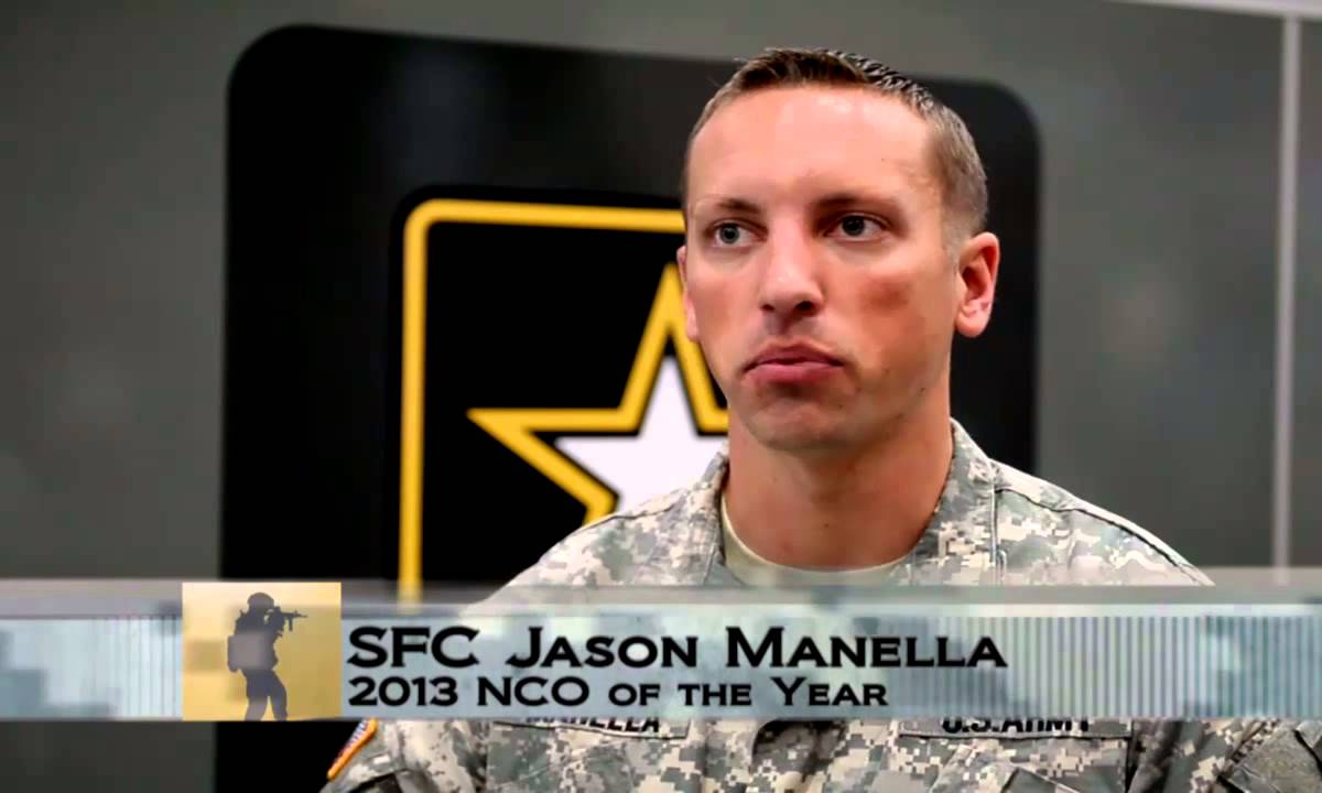 SFC Jason Manella is at this years AUSA in hopes to spread knowledge about TBI.