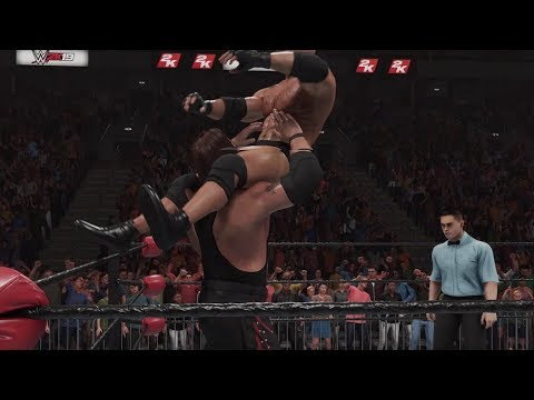 WWE 2K19 Legends - Goldberg vs Kevin Nash WCW / nWo Championship
