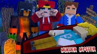 Minecraft MURDER MYSTERY : WHO KILLED PEWDIEPIE??