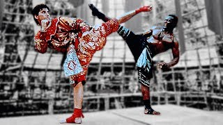 Лорен Аведон (Джейк) против Билли Блэнкса (Хан) | Loren Avedon (Jake) vs Billy Blanks (Khan)