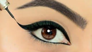 Eyeliner लगाते वक़्त क्या आपके हाथ कांपते है? Use This TRICK To Apply Perfect Wing Eyeliners | Anaysa