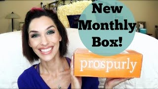 Prospurly, New Subscription Box!  Unboxing, Review, First Impression