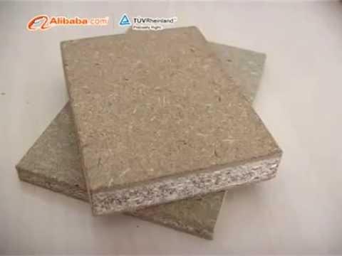 Wanhua Straw Board Processing Line
