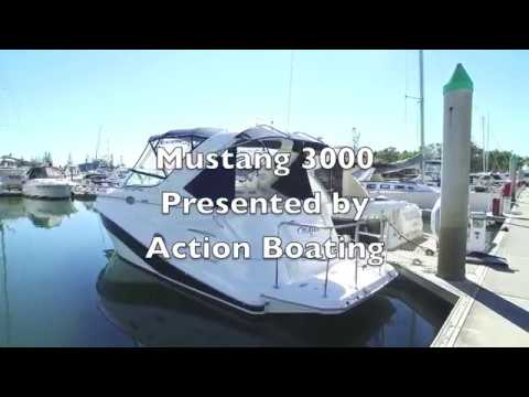 Mustang 3000 Sports Cruiser for sale, Action Boating, boat sales, Gold Coast, Queensland, Australia