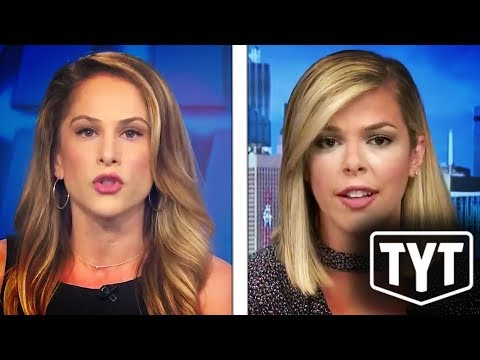 Ana Kasparian Drops Mic On Right-Wing Pundit - YouTube