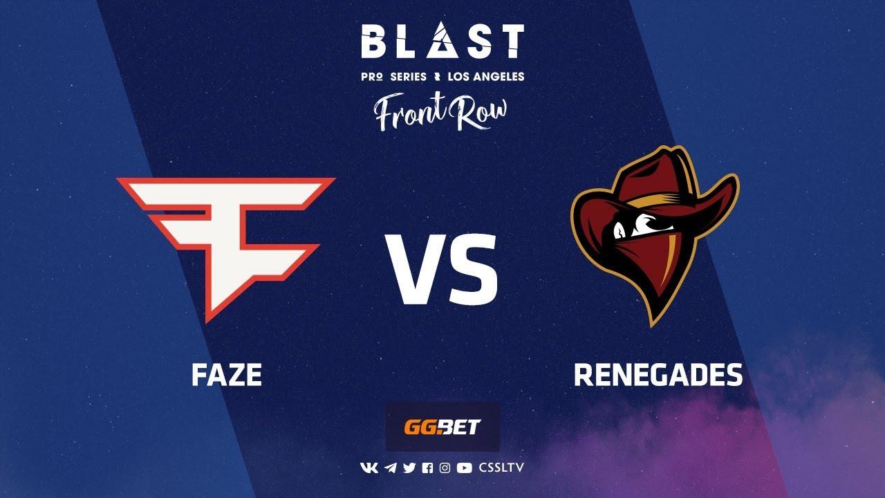 FaZe vs Renegades | Train | BLAST Pro Series Los Angeles 2019