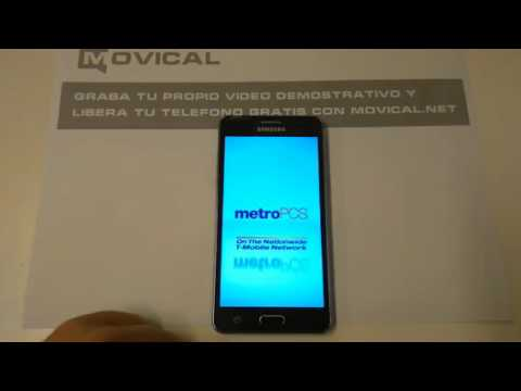 Liberar Samsung Galaxy On5, SM-G550T1 de MetroPCS con movical Net