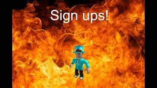 Roblox Hunger games sign ups (23/23 people signed up) (CLOSED)