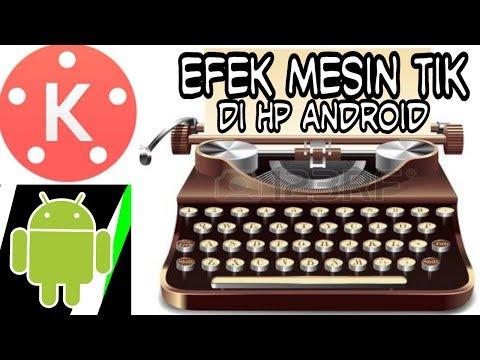 Membuat efek mesin tik di android / Create a typewriter effect in android