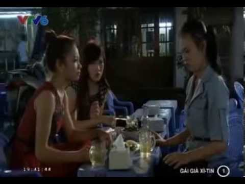 Phim Gai gia xì tin Tập 1 Phần 3/3 phim Việt Nam HOT phim gái già xì tin