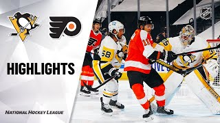 NHL Highlights | Penguins @ Flyers 1/13/21