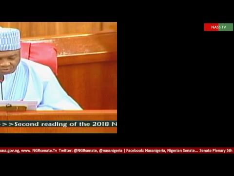 Senate Plenary,5th December, 2017