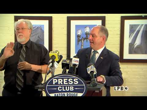 Press Club - 01/08/18 - Governor John Bel Edwards