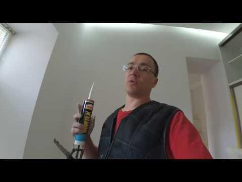 Как заделать микро трещины на потолке и стенах. Личный опыт.
