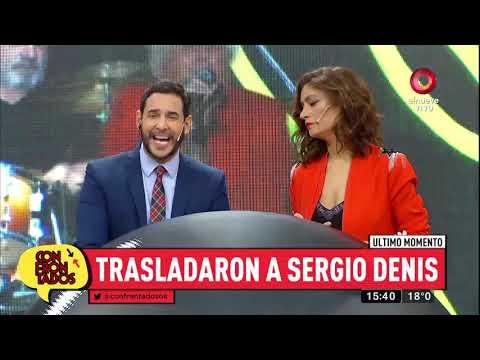 Sergio Denis fue trasladado a una clínica de rehabilitación integral