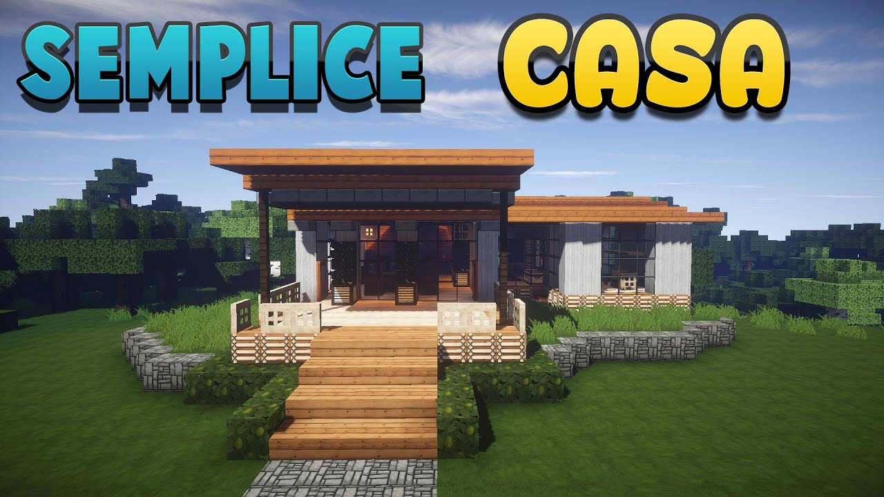 Come costruire una casa minecraft ita youtube for Come costruire una casa pueblo
