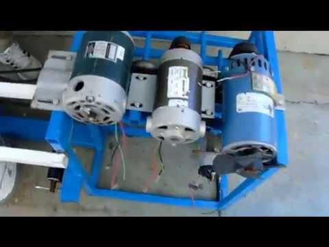 5dbbed1da90 Maquina de hacer electricidad 450 volts - YouTube