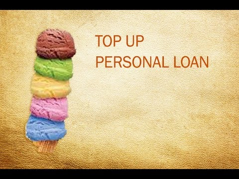 Top Up Personal Loan
