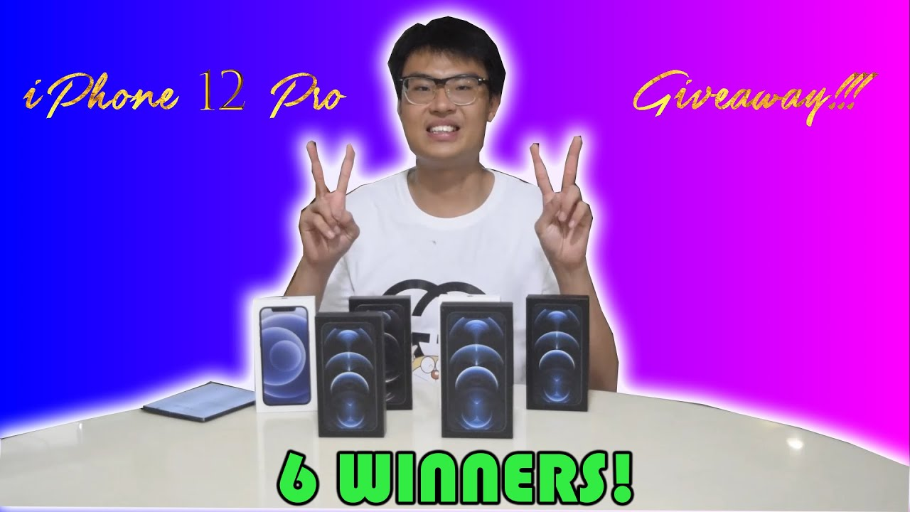 Download 6x iPhone 12 Pro, 12 Pro Max Giveaway!  | 2 Ways to Win! | 135k Subs Special! [OPEN] [WORLDWIDE]