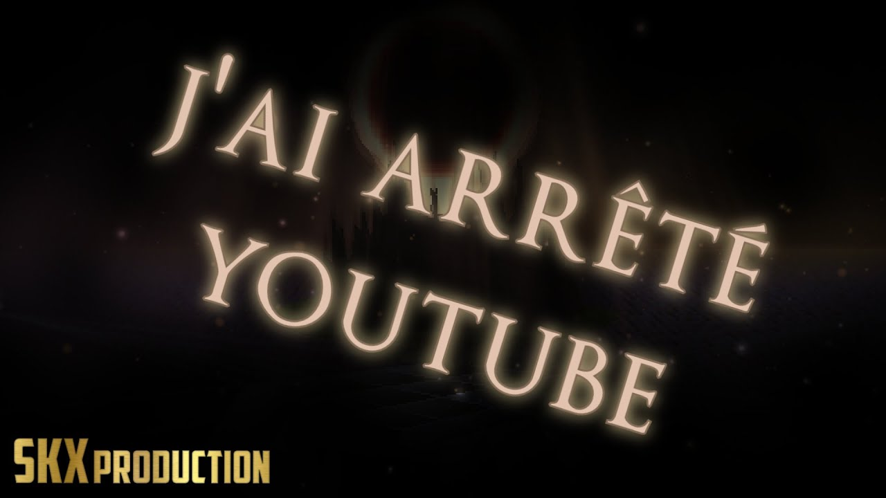 Je n'ai pas arrêté Youtube ( ͡° ͜ʖ ͡°)