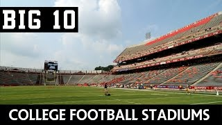 College Football Stadiums - Big Ten Conference (BIG10)