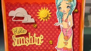 Hello Sunshine Card - Oddball Art Design Team Project