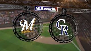 6/21/14: Brewers cash in on Rox