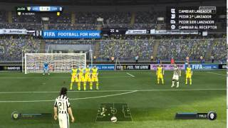FIFA15 Pro Evo Gameplay MOD -R5- Realist Version WIP Test2 by Mortal 06 10 2015