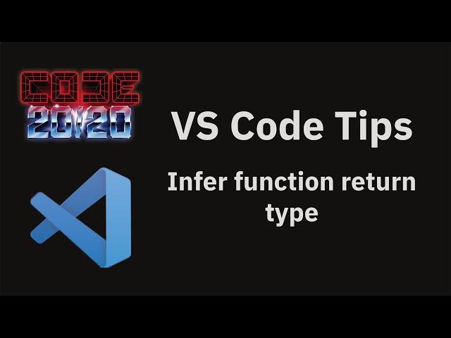 Infer function return type