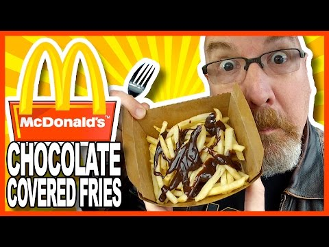 McDonald's Chocolate Covered Fries Review