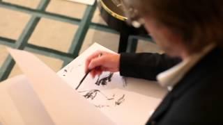 David Downton draws Vanity Fair