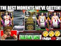 I spent all my vc on new moments packs to pull the new galaxy opals in nba 2k21 myteam pack opening