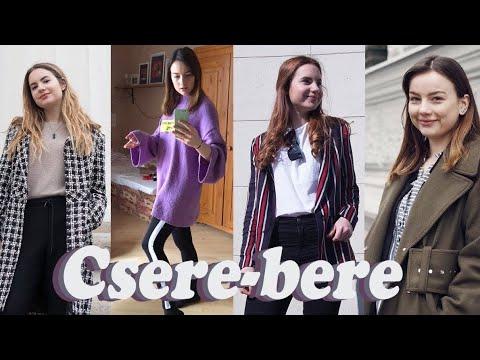 CSERE-BERE a jelenlegi kedvenc ruháinkkal   Lina és Panni thumbnail