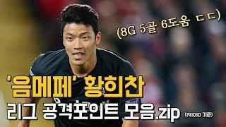 '음메페' 황희찬 리그 공격포인트 모음.zip (8G 5골 6도움 ㄷㄷ)