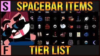 Isaac Spacebar Items Tier List - My Favorite Active Items!