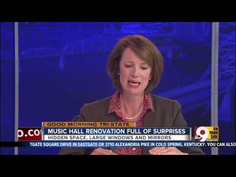 Insider Report: Cincinnati Music Hall renovation full of surprises