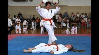 Turniej Ostro³êckiego Klubu Karate Kyokushin z okazji Dnia Dziecka