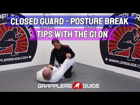 Closed Guard Posture Break - Tips For Breaking Posture With The Gi by Jason Scully