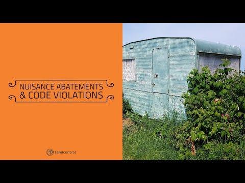 Nuisance Abatements & Code Violations