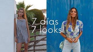 7 DÍAS 7 LOOKS (Lookbook de VERANO)|| State Beauty