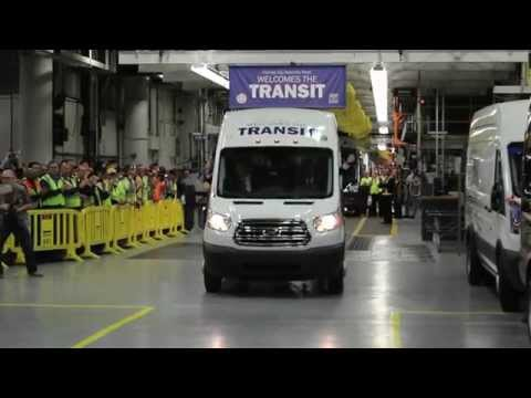 Behind the Scenes: 2015 Ford Transit Van Production Line