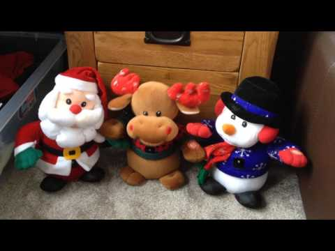 Interactive singing Christmas friends/toys - jingle bells